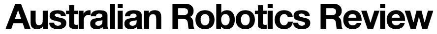 Australian Robotics Review (8.5.15)